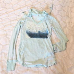 Roxy Long Sleeve Hooded Shirt